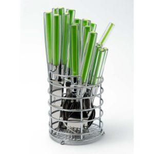 Набор столовых приборов Maestro MR-1531 (зеленый)