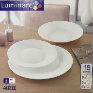 Набор столовый 18 предметов LUMINARC ALIZEE (10L3664)