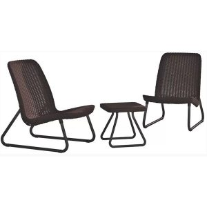 Набор уличной мебели Keter Rio Patio (коричневый)