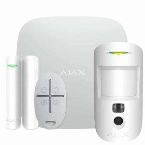 Набор умного дома Ajax StarterKit Cam (белый)