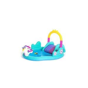 Надувной бассейн Bestway 53097 Волшебный единорог (274x198x137)