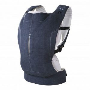Нагрудный рюкзак-кенгуру Chicco Myamaki Complete (Denim Beige)