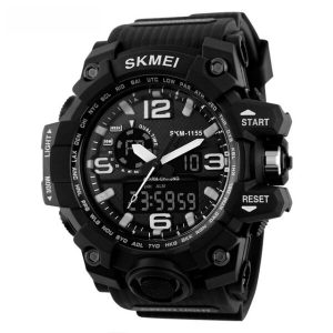 Наручные часы Skmei 1155 (черно-белый)