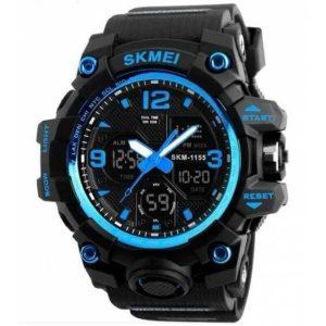 Наручные часы Skmei 1155 (черно-синий)