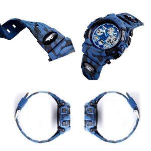 Наручные часы Skmei 1163 (синий камуфляж)
