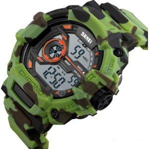 Наручные часы Skmei 1233 (черный/зеленый)