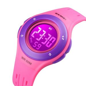 Наручные часы Skmei 1455 (розовый/фиолетовый)