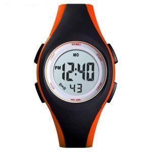 Наручные часы Skmei 1459 (черный/оранжевый)