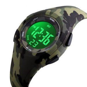 Наручные часы Skmei 1459 (зеленый камуфляж)