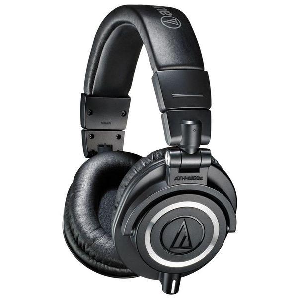 Наушники AUDIO-TECHNICA ATH-M50X черный