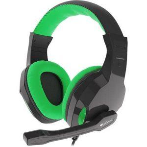 Наушники Genesis Argon 100  (черный/зеленый)