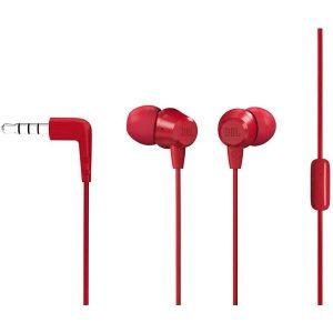 Наушники JBL C50HI (красный)