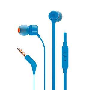 Наушники с микрофоном JBL Tune 110 (синий)