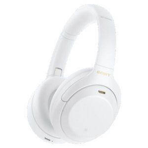 Наушники с микрофоном Sony WH-1000XM4 (белый)