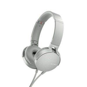 Наушники SONY MDR-XB550AP белые