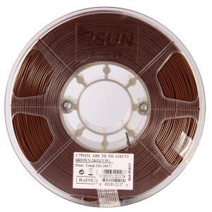 Пластиковая нить ESUN ABS 1.75 мм brown