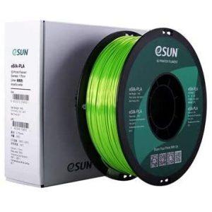 Пластиковая нить ESUN eSilk PLA 1.75 мм 1000 г (салатовый)