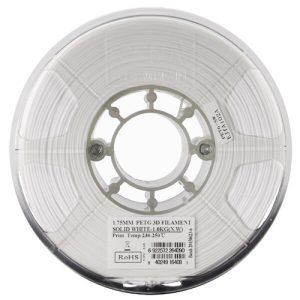 Пластиковая нить ESUN PETG 1.75 мм solid white