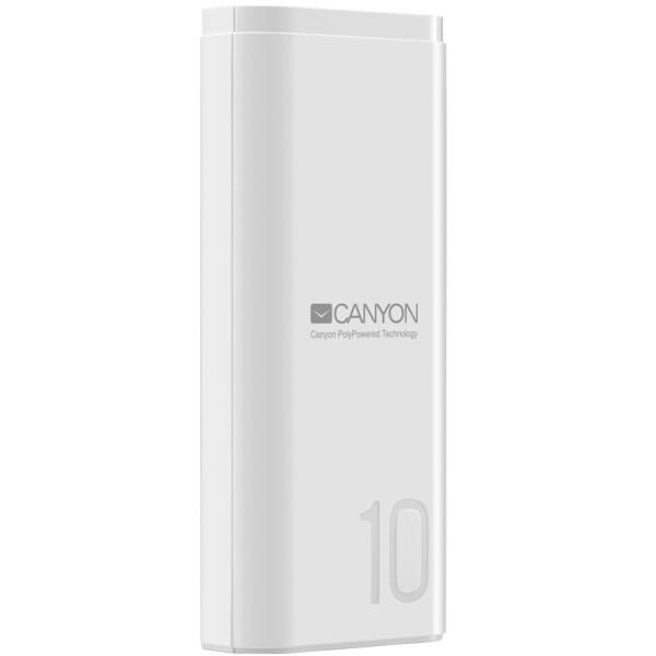 Портативное зарядное устройство CANYON CNE-CPB010W