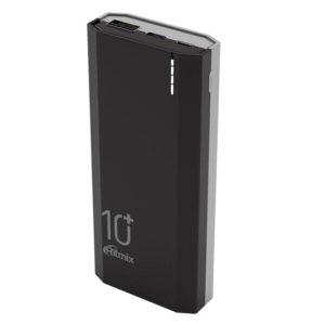 Портативное зарядное устройство Ritmix RPB-10002 (черный)