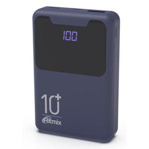 Портативное зарядное устройство Ritmix RPB-10005 (синий)