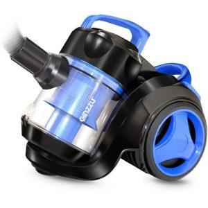 Пылесос циклонный Ginzzu VS420 (черный/синий)