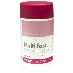 Реагент для бассейна BWT AQA marin Multi-fast Tabletten 200 г (1 кг)