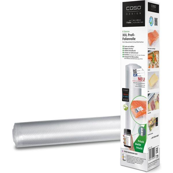 Рулон для вакуумной упаковки CASO VC 40 х1000 см