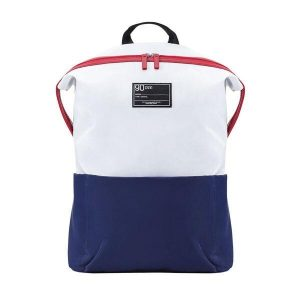 Рюкзак Ninetygo 90 Points Lecturer Leisure Backpack (2082) белый/синий