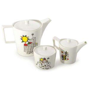 Сервировочный набор для чая/кофе BERGHOFF Eclipse ornament 3705100