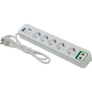 Сетевой фильтр APC Essential SurgeArrest 5 outlets with coax protection 230 (PM5V-RS)