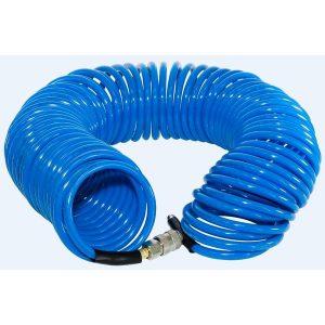 Шланг полиуретановый спиральный с фитингами FUBAG 8х12 15 м (170306)