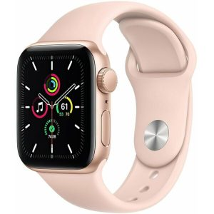 Смарт-часы APPLE Watch SE Gold Aluminium Case with Pink Sand Sport Band 40mm (MYDN2UL/A)