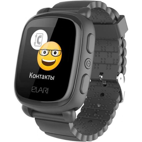 Smart часы Elari KIDPHONE 2 KP-2 (черный)