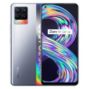 Смартфон Realme 8 6GB/128GB (кибер серебристый)