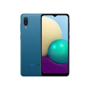 Смартфон Samsung Galaxy A02 SM-A022GZBBCAU (синий)