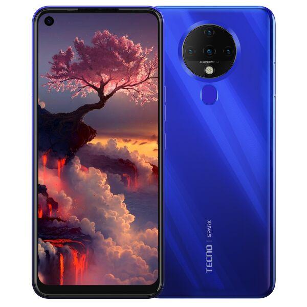 Смартфон Tecno Spark 6 (KE7) 4GB/128GB синий