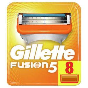 Сменные кассеты GILLETTE Fusion5 8шт (7702018877508)