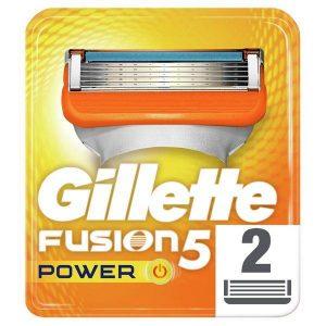 Сменные кассеты GILLETTE Fusion5 Power 2шт (7702018877560)