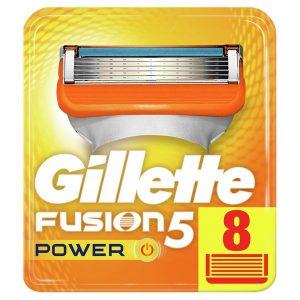 Сменные кассеты GILLETTE Fusion5 Power 8шт (7702018877621)