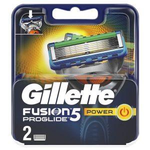 Сменные кассеты GILLETTE Fusion5 Proglide Power 2шт (7702018085927)