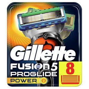 Сменные кассеты GILLETTE Fusion5 ProGlide Power 8шт (7702018085606)