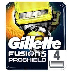 Сменные кассеты GILLETTE Fusion5 ProShield 4шт (7702018412488)