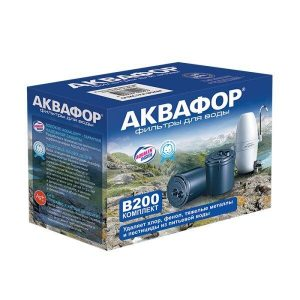 Сменный модуль АКВАФОР B200 (умягчающий)
