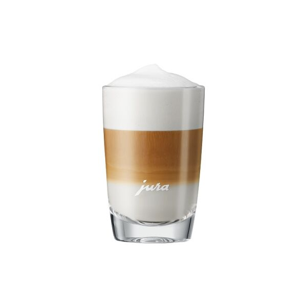 Стеклянные стаканы для латте маккиато малые JURA