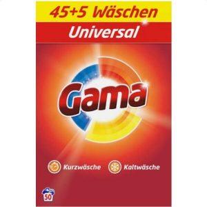 Стиральный порошок GAMA VIZIR Universal 3.25 кг