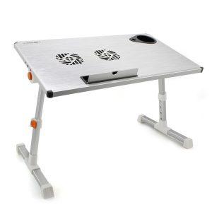 Столик для ноутбука CROWN CMLS-101 silver