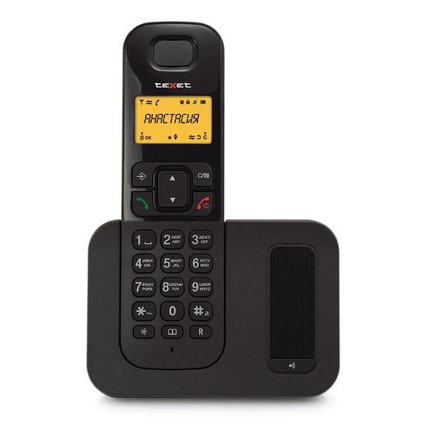 Телефон стандарта dect TEXET TX-D6605A черный