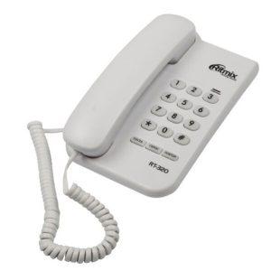 Телефонный аппарат Ritmix RT-320 (белый)