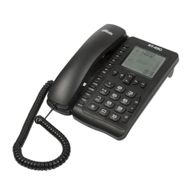 Телефонный аппарат Ritmix RT-490 (черный)